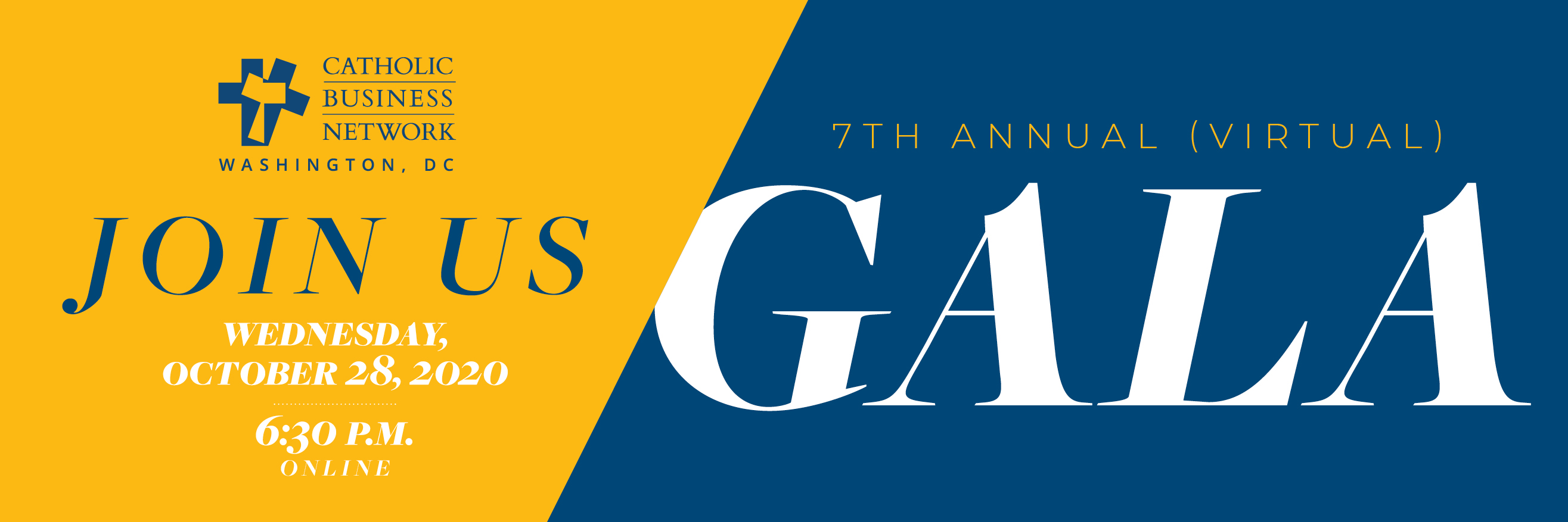 Join us for the 2020 CBN-DC Gala